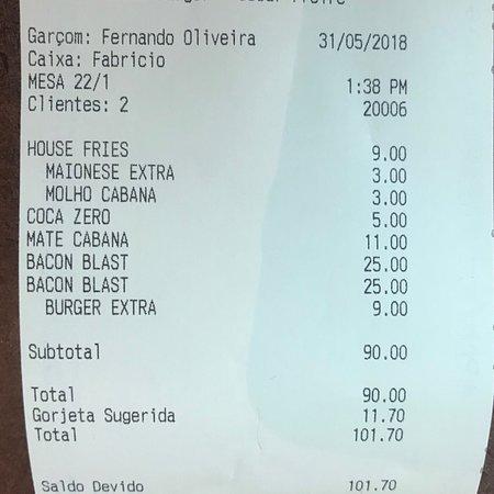 Cabana Burger Barra ภาพถ่าย