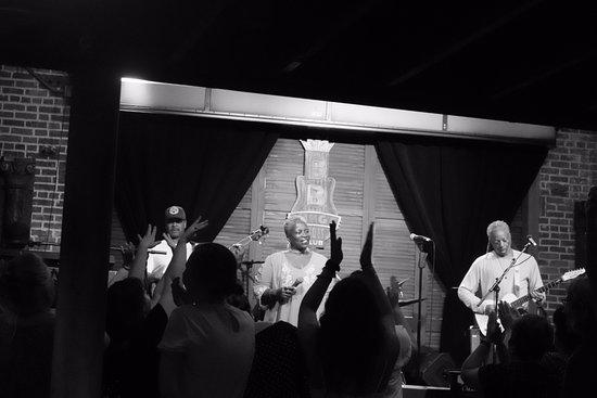 BB King's Blues Club: the band!