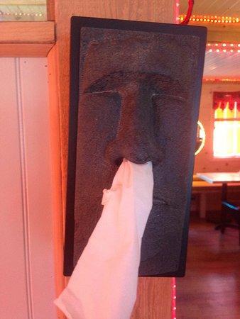 Knowlton, Kanada: Mr Kleenex