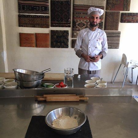 Dana, Jordanië: Cooking class
