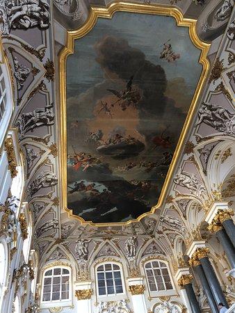 俄罗斯冬宫博物馆与冬宫照片