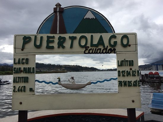 Puerto Lago is RIGHT on the LAKE!