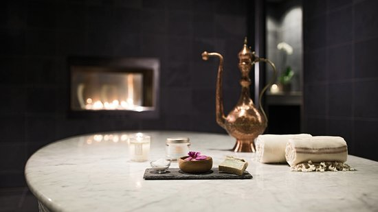 Spa at JW Chicago: Indulge in a Hammam treatment that allows hot steam to open your pores and release toxins