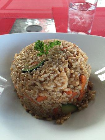 Worthing, Барбадос: chicken stir fry
