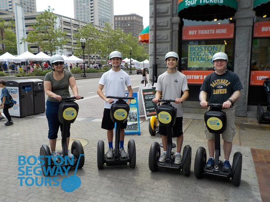 Boston Segway Tours: Rated ⭐⭐⭐⭐⭐ on #tripadvisor and the only #tour in #Boston that gets teenagers as excited as the