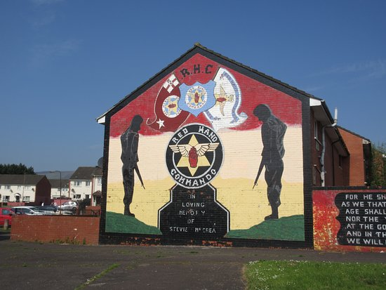 Paddy Campbell's Belfast Famous Black Cab Tours: Shankhill area