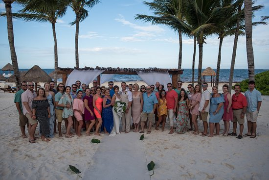 Excellence Riviera Cancun : Our large group!