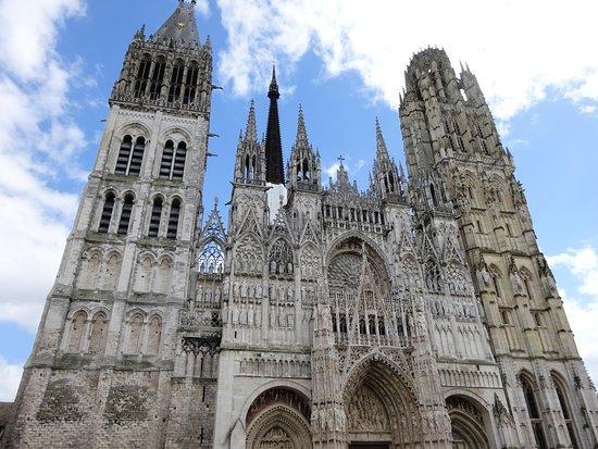 Cathedrale Notre-Dame de Rouen: 大聖堂の正面