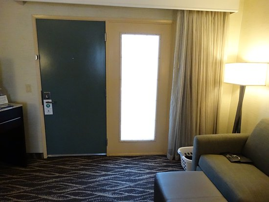 High Quality Embassy Suites By Hilton Lompoc Central Coast: The Door And Frosted Window.