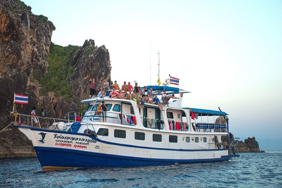 Khuk Khak, Thái Lan: Similan diving Safaris Live-aboard Dolphin Queen