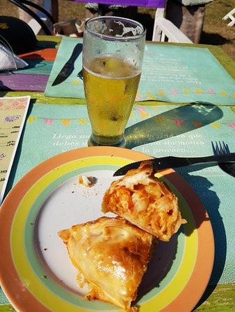 Fratello Panini Cafe: empanadas de camarones