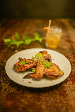 PuddleFish Brewery: Passionfruit Glazed Grilled Chicken