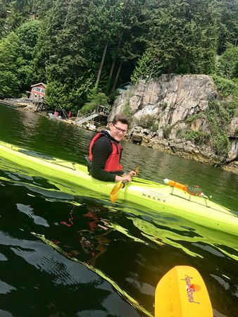 Deep Cove: First time Kayaking - really enjoyed it!
