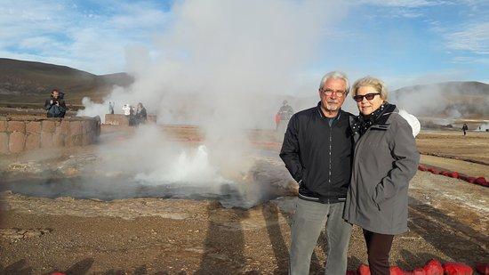 Araya Atacama: Nos Geisers del Tatio