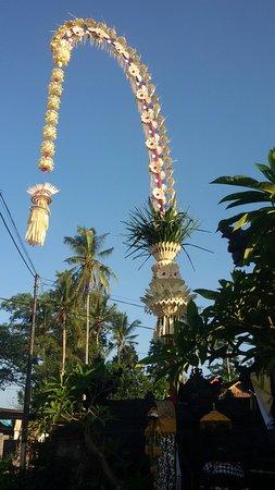 Banu Bali Tours: Balinese beautiful bamboo decoration call Penjor