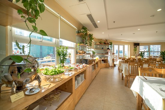 Nhat Minh Hotel and Apartment : Restaurant