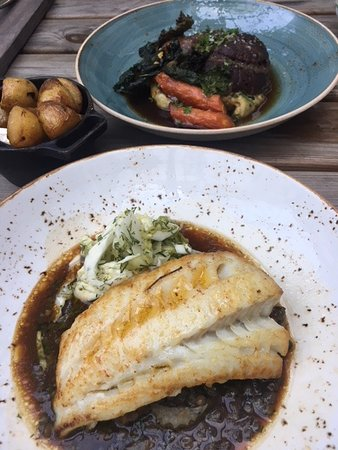 Marg & Bein: The halibut and the ox cheeks