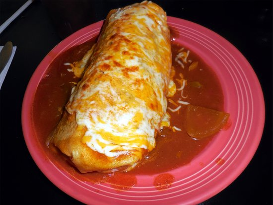 Clearlake, CA: Rancheros Burrito