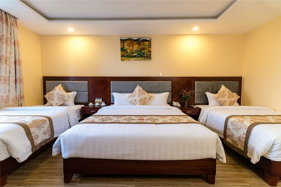 Nhat Minh Hotel and Apartment : Bed room