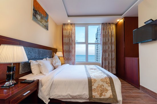 Nhat Minh Hotel and Apartment : Superior Room With Sea View