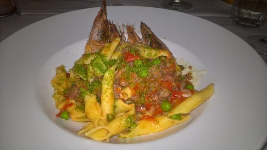 Emeril's New Orleans: Seafood dish