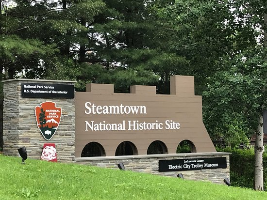 Steamtown National Historic Site: Entrance