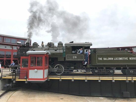 Steamtown National Historic Site: Working Steam Engine that you can ride.