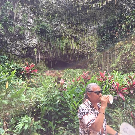 Smiths Fern Grotto Wailua River Cruis ภาพถ่าย
