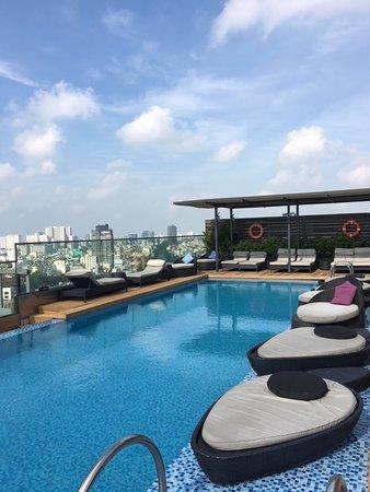 西贡城市之心自由中央酒店照片