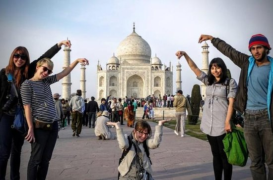 12-Hours Private Taj Mahal & Agra Tour...