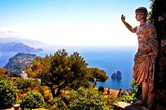 Sorrentokusten, Capri och Anacapri ...