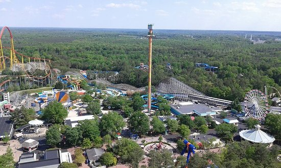 Kings Dominion: From the Tower at K.D