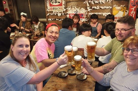 Osaka Bar Hopping Tour: Taste of Local Food & Nightlife at Hidden...