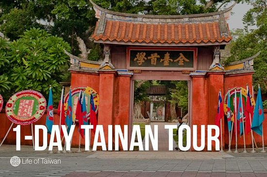 1-Day Tainan City Private Tour of...