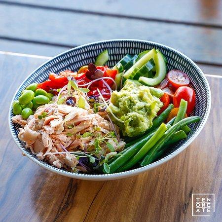 Ten One Ate: Salmon Poke Bowl