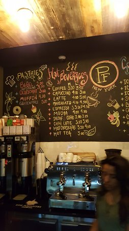 Paper Factory Hotel: snack bar choices