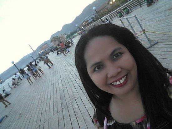 Naga City Boardwalk: I had a chance to capture the beautiful scenery of Naga