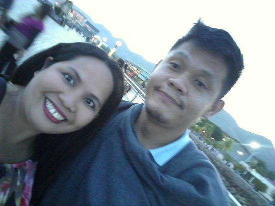 Naga City Boardwalk: Had a romantic talks with my bff in Naga Boardwalk
