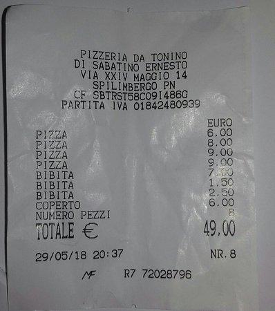 Pizzeria Da Tonino ภาพถ่าย