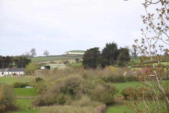 Newgrange from distance