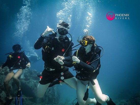 Phoenix Divers : Couples that dive together stay together!