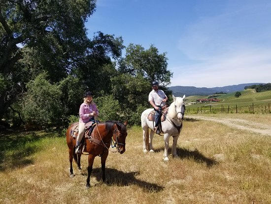 Creston, CA: Central Coast Trailrides
