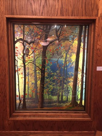 Aitkin, MN: Another one of the local artist's dioramas - beautiful