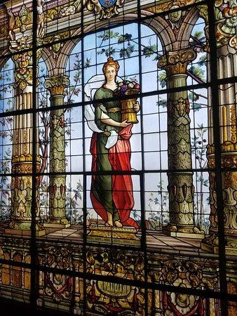 คาสติโลเดอชาปูเทเปค: stained glass