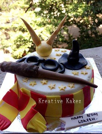 Kreative Kakez: Harry Potter Design Cake