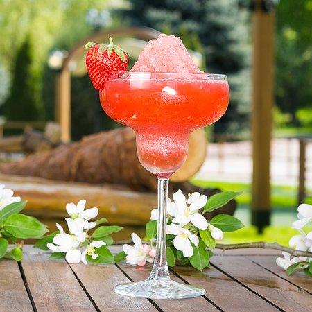 Sunset Efes Beer Garden: Frozen Strawberry Margaritha