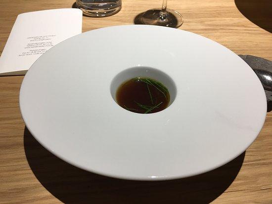 Keidenzeller Hof: ...lecker ....Suppe mit Liebstöckel