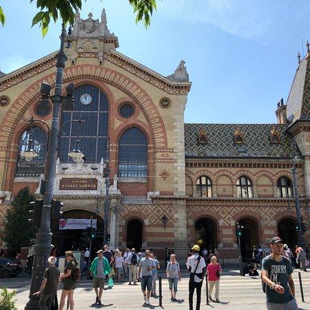 布达佩斯中央大市场照片