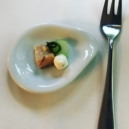 Hotel Blausee: 4 Gänger mit individuellen Gästewünschen ergänzt/abgeändert. Kompliment an die Küche!