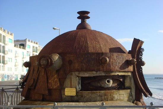 Anzio tours: Bunker in the Anzio beach head